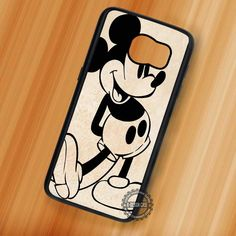 Mickey Mouse Disney Vintage - Samsung Galaxy S7 S6 S5 Note 7 Cases & Covers