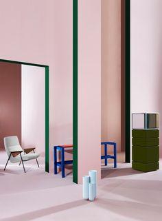 modern blush interior | ban.do
