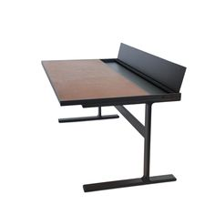 Shop SUITE NY for the Mark Albrecht Desk designed by Mark Albrecht and more solid steel desks, leather and steel furniture and contemporary furniture made in NY