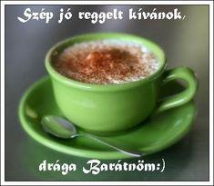 JÓ REGGELT! - donerika.lapunk.hu Gourmet Recipes, Pudding, Celebrities, Tableware, Desserts, Food, Humor, Image, Kaffee