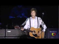 Paul McCartney - And I Love Her - Show inesquecivel - Rio de Janeiro em ...
