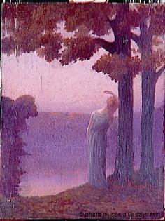 Alphonse Osbert Mélancolie du soir