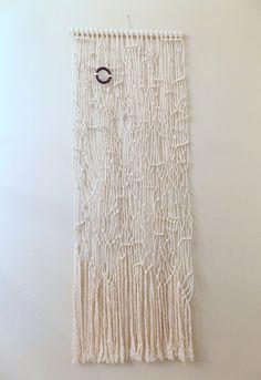 "Macramé wall hanging ""Random Thoughts no.2"" by HIMO ART"