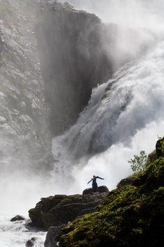 cascada de Kjoss  Noruega