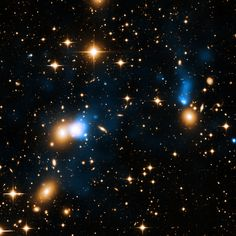An extraordinary ribbon of hot gas trailing behind a galaxy like a tail has been discovered using data from NASA's Chandra X-ray Observatory.