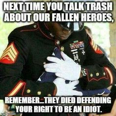 Love this photo! The way that you show respect for the fallen brother in wartime! This is old time respect and honor in America. Marine Mom, Marine Corps, Usmc, Marines, My Champion, Support Our Troops, Fallen Heroes, Military Life, Military Quotes