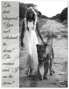 Even though I walk through the valley of the shadow of death, your rod and staff they comfort me. And you are with me.