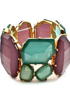 Jeweled Tone Bracelet