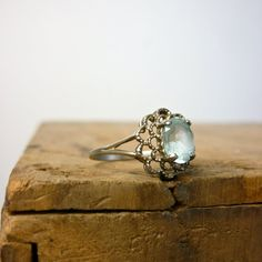 Art Deco Ring  1930s Ring  Filigree Sterling by jessjamesjake, $88.00