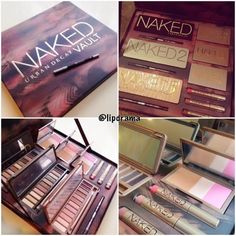 Lip Drama: Urban Decay Naked Vault for Christmas 2014!