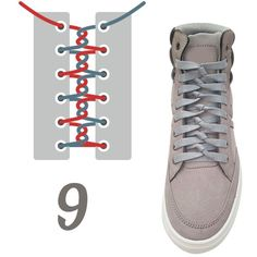 There are several things that you need to be well aware of as you consider how you are playing tennis. Diy Fashion, Fashion Shoes, Mens Fashion, Ways To Lace Shoes, Shoe Lacing Techniques, Creative Shoes, Tie Shoelaces, Diy Vetement, Tie Shoes