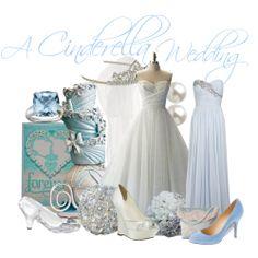 A Cinderella Wedding. Love the bridesmaid dress Disney Inspired Wedding, Disney Wedding Dresses, Disney Inspired Fashion, Cinderella Wedding, Disney Dresses, Princess Wedding, Disney Weddings, Disney Clothes, Disney Fashion