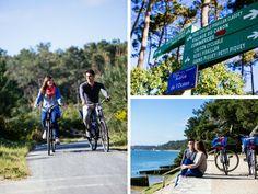 Quand on partait de bon matin... A bicyclette #vacances #holidays #summer #bassin #bassindacachon #beach #plage #sun #picoftheday #beautiful #travel #voyages #capferret #velo #balade