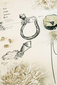 exquisite drawings by Ros Millar (via Christine Kaltoft blog)