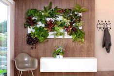 Take Your Gardening Vertical with 14 DIY Living Walls via Brit   Co