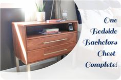 Bedside Dresser Bachelors Chest Completed Feature (3 of 1)
