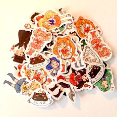 Sailor Moon Sticker Set by PeachMagica on Etsy