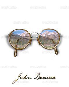 John Denver Poster by leland foster on CreativeAllies.com