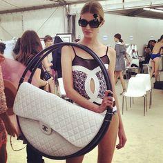 chanel...quite the handbag!!