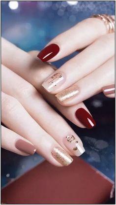 Beauty inspiring nail art designs for short nails 1 – wonders style Cute Acrylic Nails, Acrylic Nail Designs, Cute Nails, Nail Art Designs, Nails Design, Glitter Nails, Gelish Nails, My Nails, Fantastic Nails