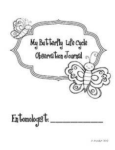 This journal is perfect for your little entomologists to study the butterfly life cycle. You will need to have ordered butterfly larvae for your st...