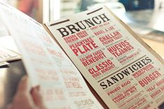 "Basheer Tome, ""Brunch Menu"", <https://www.flickr.com/photos/basheertome/6785217165>."
