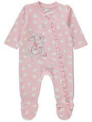 Disney Miss Bunny Fleece Sleepsuit
