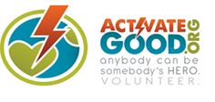 Activate Good--matches up volunteers with non-profits in Wake County, NC and beyond
