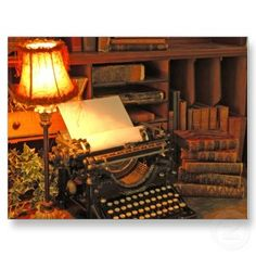 I love old typewriters and books. This combines both beautifully!