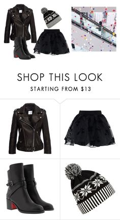 """Untitled #14278"" by jayda365 ❤ liked on Polyvore featuring Chicwish, Christian Louboutin and WithChic"
