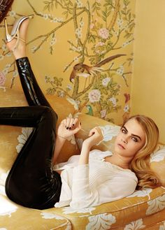 Cara Delevingne for Topshop: See the All of Her Ad Campaign Images (PHOTOS)
