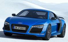 Audi introduces laser-aided high beam headlights as standard equipment on the limited-edition R8 LMX.