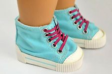 2015 Handmade fashion new white shoes for 18inch American girl doll party b242