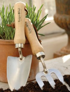 Burgon & Ball, Sheffield England quality hand tools for children for the garden.