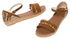 Upon waking up she decided today was the day to follow the sun – INDIRA Espadrilles made in Spain at www.espadrillesetc.com