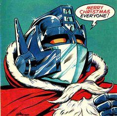 Optimus Santa