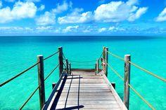 Pier at Tikehau, French Polynesia ✯ ωнιмѕу ѕαη∂у