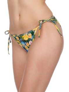 American Apparel Patterned Polyester Side-Tie Bikini Bottom American Apparel. $7.00