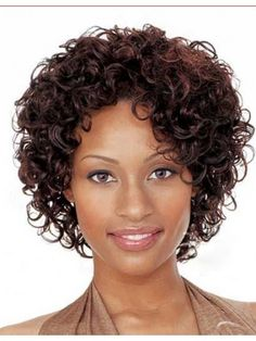 "Material: 100% Remy Human Hair Length: 8"" Hair Style: Curly Cap Construction: Capless Shown Colour: 135 Wig code : wfaa058 Shop at : www.wigsfly.com"