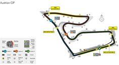 Un vistazo a la pista del GP de Austria de F1, horarios y datos técnicos