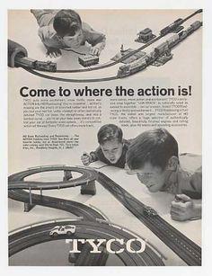 Tyco HO Railroading & Roadracing 1969