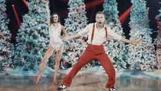 Christmas Playlist, Dance Like No One Is Watching, Derek Hough, Dancing With The Stars, Dance Videos, Jingle Bells, Dancer, Christmas Decorations, Santa