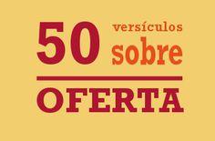 Versículos sobre oferta: os 50 melhores versículos para a palavra de oferta