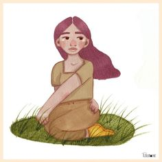 Patattoune sur Instagram: 🌾 Grounded 🌾  I miss meditating outside, feeling the ground on my feet and the air in my hair.  When is Spring scheduled again… My Hair, The Outsiders, Disney Characters, Fictional Characters, Meditation, Sketches, Disney Princess, Instagram