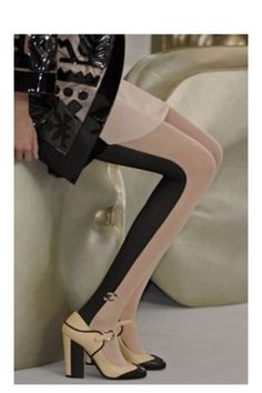 My birthday is coming up...Chanel tights please?