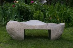 Gary Haven Smith - Wave Bench III   From a unique collection of abstract sculptures at http://www.1stdibs.com/art/sculptures/abstract-sculptures/