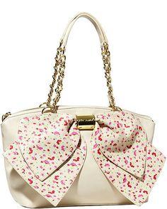 Handbags - Shop Women's Purses & Designer Handbags from Betsey Johnon Betsy Johnson Purses, Betsey Johnson Handbags, Betsey Johnson Dresses, Unique Handbags, Purses And Handbags, Pink Purses, Fashion Handbags, Fashion Bags, Versace