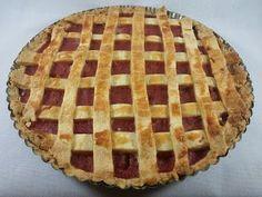 Krysy v Kuchyni: Bezlepkový Mřížkový Koláč Jahodovo-Rebarborový Quiche, Gluten Free, Pie, Desserts, Food, Glutenfree, Torte, Tailgate Desserts, Cake