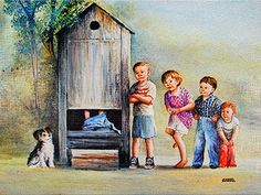 grandmas outhouse | Dianne Dengel - The Outhouse