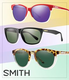 Smith Revisits its Roots with Throwback Sunnies: http://eyecessorizeblog.com/2015/03/smith-revisits-roots-throwback-sunnies/